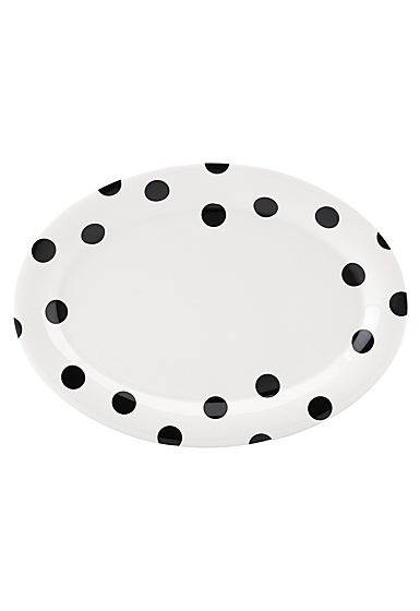 Kate Spade China by Lenox, Deco Dot Platter 14