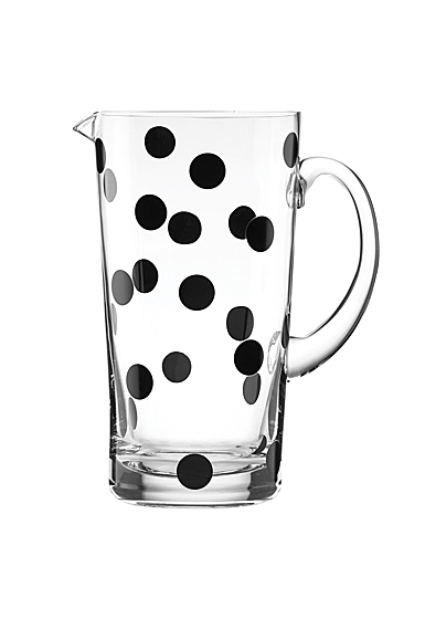 Kate Spade New York, Lenox Glass Deco Dot Pitcher