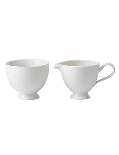 """Donna Hay for Royal Doulton Tea Story Cream Jug, 5 1/2"""" and Sugar Bowl, 4"""""""