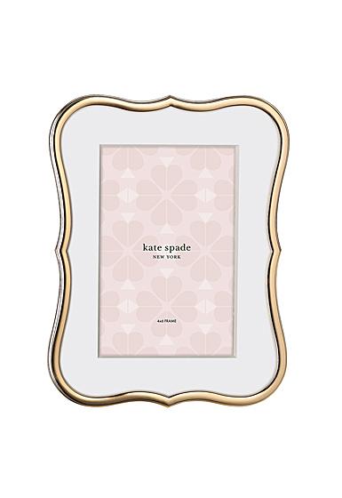 Kate Spade New York, Lenox Crown Pt Gold 4x6 Frame