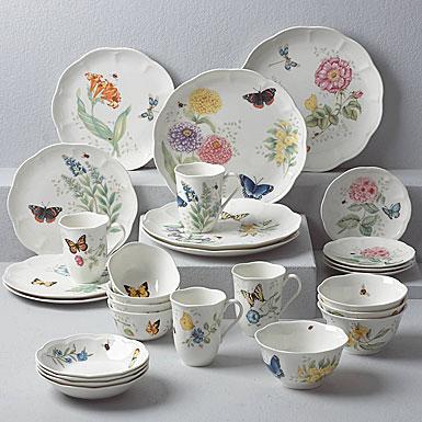 Lenox Butterfly Meadow Dinnerware 28 Piece Set