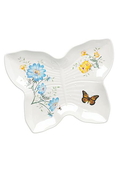 Lenox Butterfly Meadow Melamine Dinnerware Butterlfy Tray