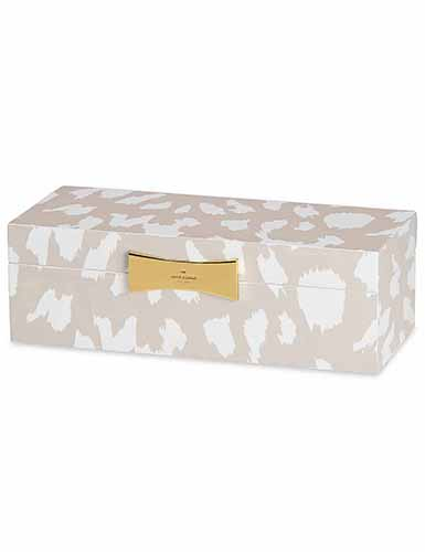Lenox kate spade Outpost Gifting Lg Rect Jewelry Box, Animal
