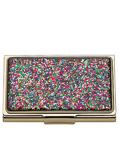 Lenox kate spade new york Simply Sparkling Multi Glitter Business Card Holder