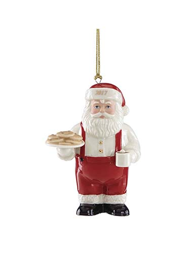 Lenox Annual 2017 Cookies for Santa Ornament