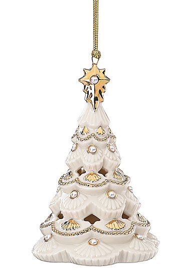 Lenox Florentine and Pearl Tree 2017 Ornament