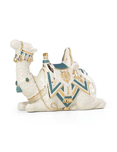 Lenox First Blessing Laying Camel, Teal Cloth