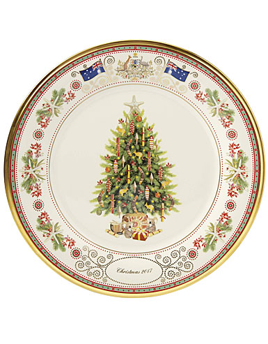 Lenox Annual 2017 Trees Around the World Australia Holiday Plate