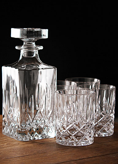 Royal Doulton Spirit Set, Square Decanter with Four DOF's