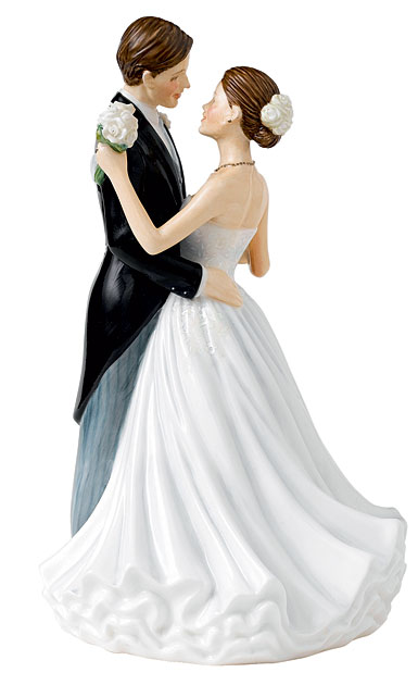 Royal Doulton China Pretty Ladies Occasions Figure Wedding Day - Anniversary Figure