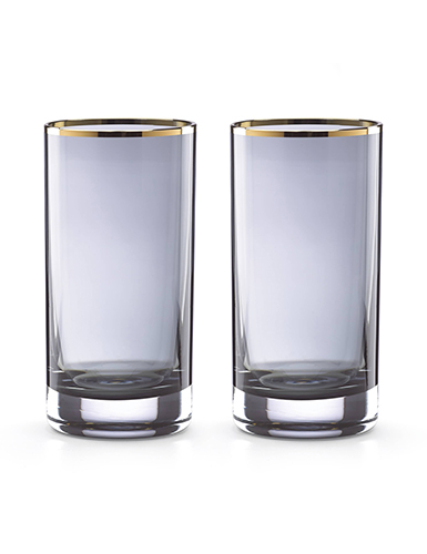 Lenox kate spade, South Street Crystal Highball, Pair