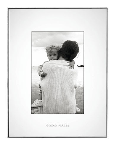 "Lenox kate spade Baby 4x6"" Frame, Going Places"