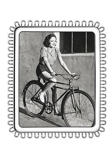 """Lenox Kate Spade Keaton Street Silver 8x10"""" Frame"""