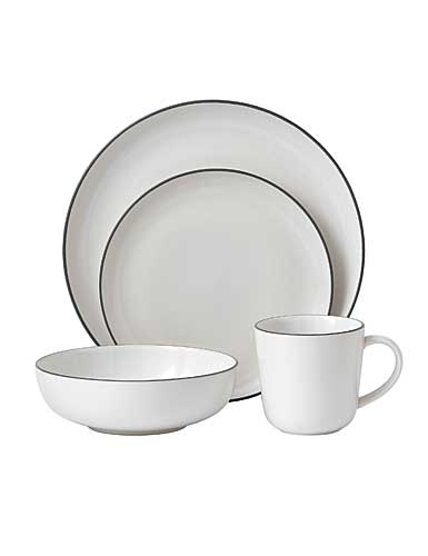 Royal Doulton China Gordon Ramsay Bread Street 4-Piece Set White