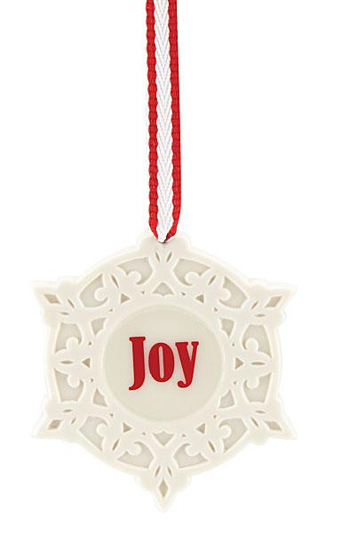 Lenox China Joy Snowflake Christmas Ornament