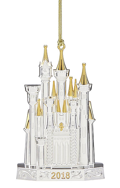 Lenox 2018 Disney Castle Christmas Ornament