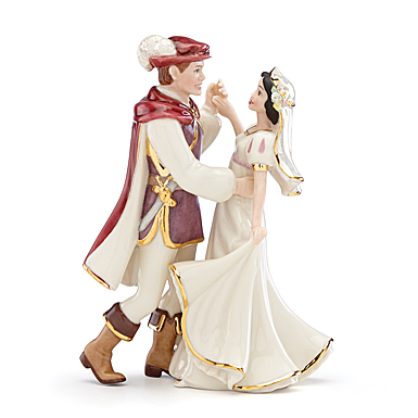 Lenox Snow White And Prince Figurine