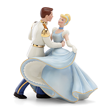 Lenox Cinderella And Prince Charming Figurine