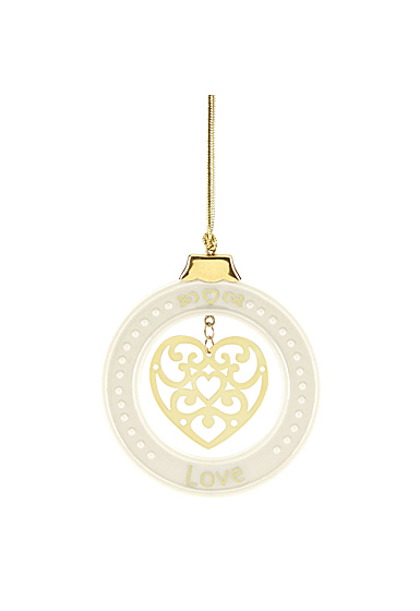 Lenox 2019 Love Ornament