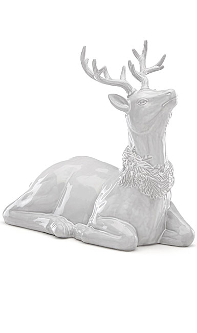 Lenox China Reindeer Christmas Centerpiece