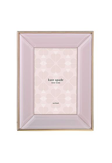 """Kate Spade New York, Lenox Charles Lane Blush 4x6"""" Frame"""