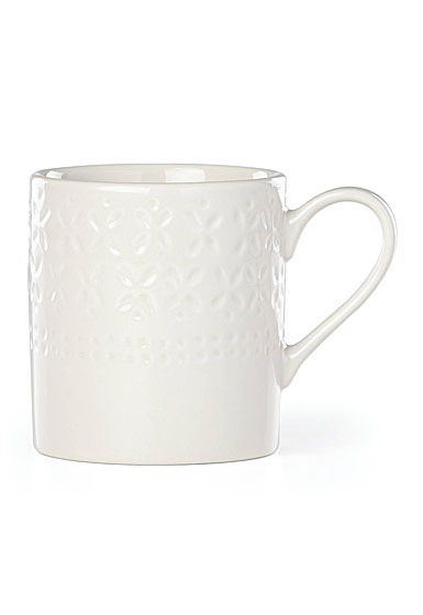 Kate Spade New York, Lenox Stoneware Willow Drive Cream Mug