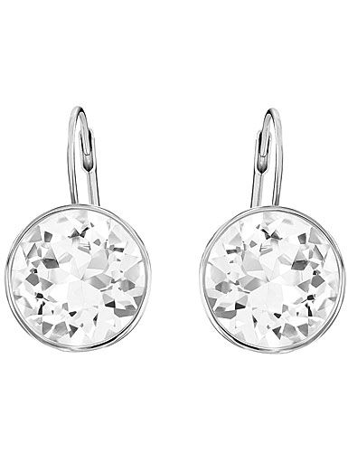 Swarovski Bella Clear and Rhodium Pierced Earrings
