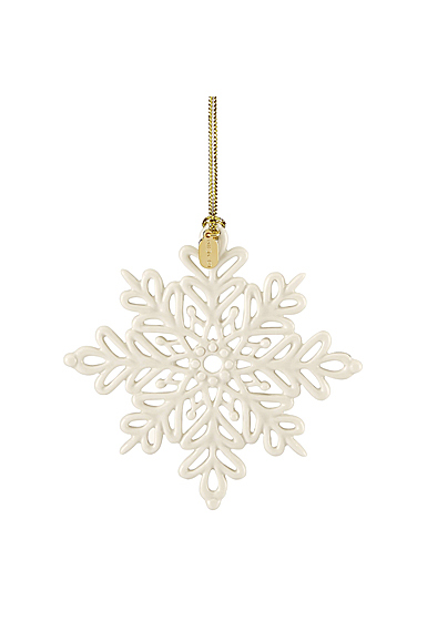 Lenox 2019 Snow Fantasies Snowflake Christmas Ornament