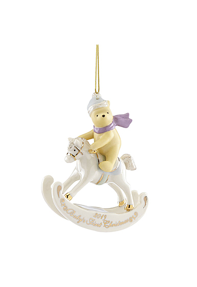 Lenox 2019 Winnie the Pooh Baby Ornament