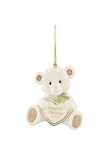 Lenox 2019 Baby's 1st Christmas Bear Ornament
