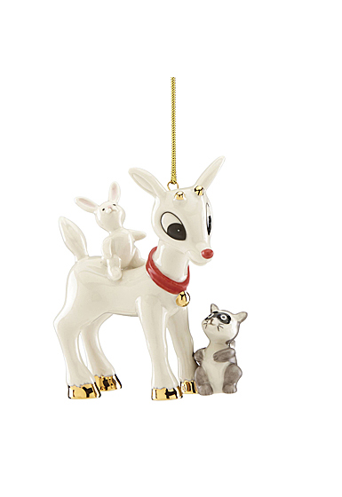 Lenox 2019 Rudolph's Furry Friends Ornament