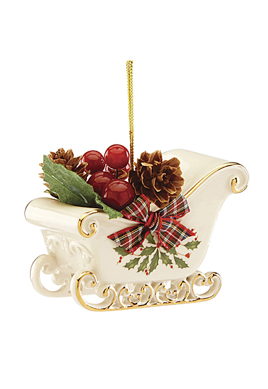 Lenox 2019 Holiday Sleigh Ornament