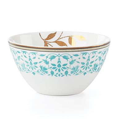 Lenox Global Tapestry Aquamarine Dinnerware All Purpose Bowl