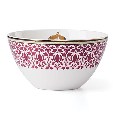 Lenox Global Tapestry Garnet Dinnerware All Purpose Bowl