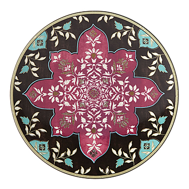 Lenox Global Tapestry Garnet Mandala Dinnerware Accent Plate