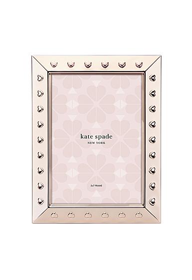 "kate spade new york Lenox Heart to Heart 5""x7"" Frame"