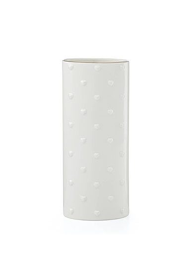 kate spade new york Lenox Heart to Heart Porcelain Large Oval Vase