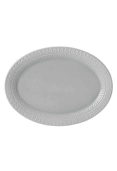 Kate Spade China by Lenox, Stoneware Willow Drive Grey Platter