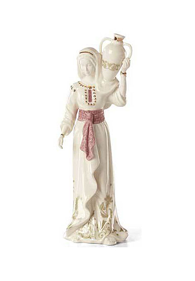 Lenox China First Blessing Nativity Woman with Water Jug Sculpture