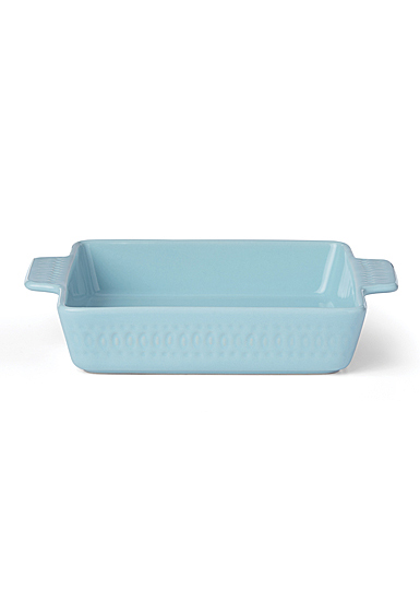 Kate Spade China by Lenox, Stoneware Willow Drive Blue Square Baker