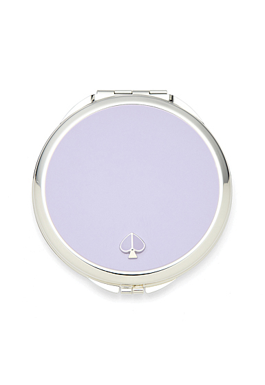 kate spade new york Lenox Spade Street Silver Compact. Lilac
