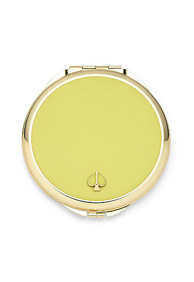 kate spade new york Lenox Spade Street Gold Compact, Citron