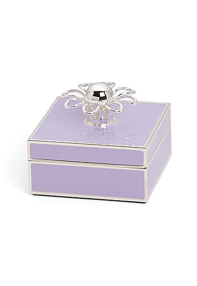 kate spade new york Lenox Keaton Street Silver Lilac Box