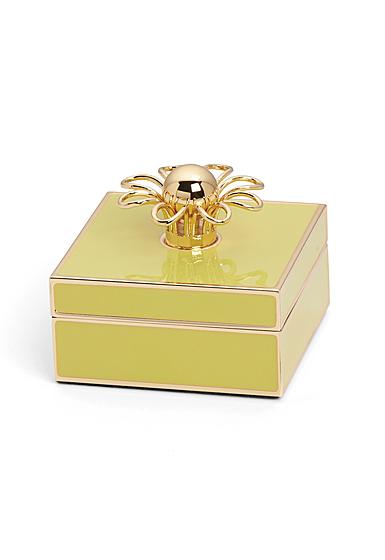 kate spade new york Lenox Keaton Street Gold Yellow Box