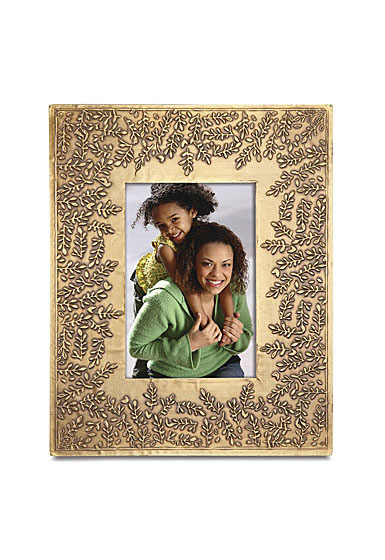 """Lenox Global Tapestry Metal Hammered 5""""x7"""" Picture Frame"""