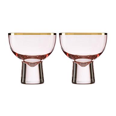 Lenox Trianna Blush Cocktail Glass Pair