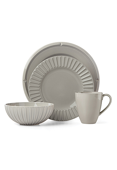 Kate Spade China by Lenox, Tribeca Platinum 4 Piece Place Setting