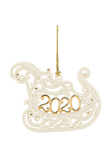 Lenox 2020 A Year To Remember Sleigh Ornament