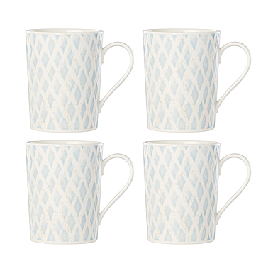 Lenox Textured Neutrals Dinnerware Mug Set Of Four