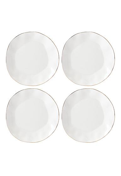 Lenox Blue Bay Dinnerware Dinner Plate White Set Of Four